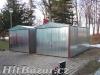 Plechová garáž vhodná i do sněhových oblastí