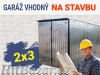 Plechové garáže garáž pozinkovaný od výrobce 2x3 montáž zdarma