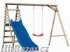 Hřiště pro děti Anetka - skluzavka, houpačka