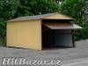 Plechové garáže - AKCE - doprava a montáž zdarma - 3