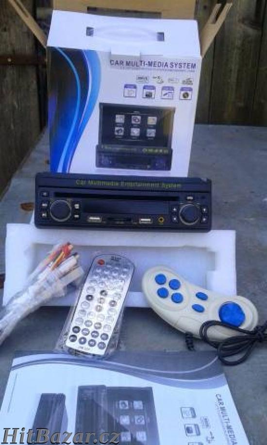 Autorádio s DVD 7,5 LCD+mp3+2x usb+karta+hry - 4