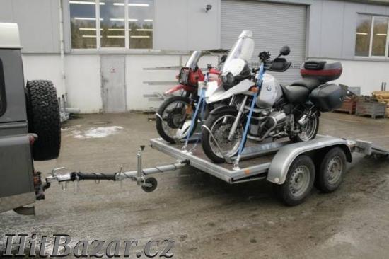 Prodám vlek na 2 motorky nebo čtyřkolku - 3