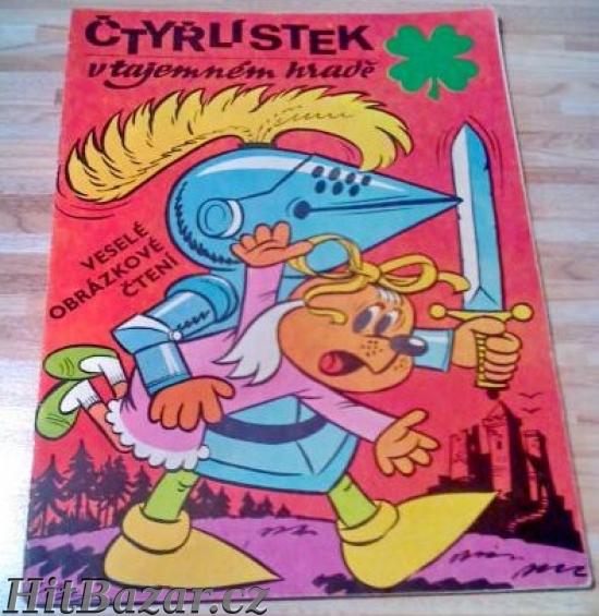 Časopis (komiks) Čtyřlístek - 4