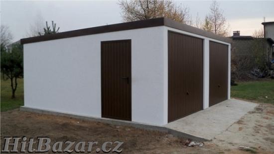 Montované garáže s omítkou - 7