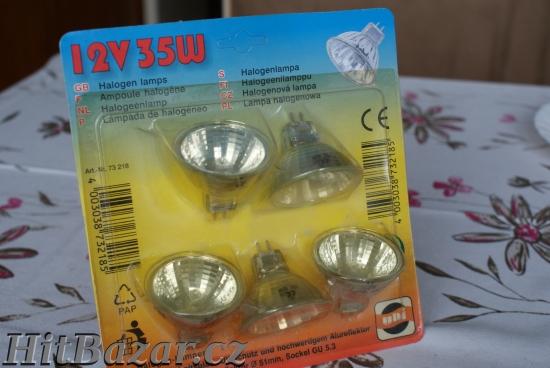 Halogen reflektorky 12V/35W