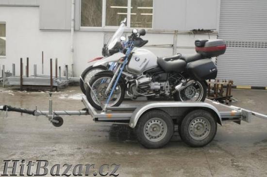 Prodám vlek na 2 motorky nebo čtyřkolku