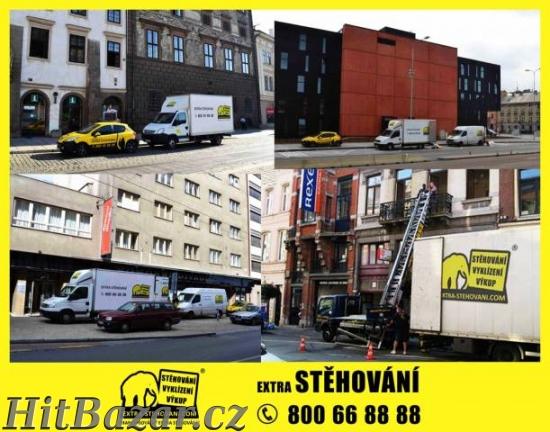 Extra stěhování a vyklízení Plzeň