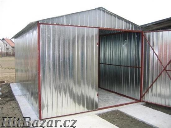 AKCE na plechové garáže, doprava a montáž zdarma - 6