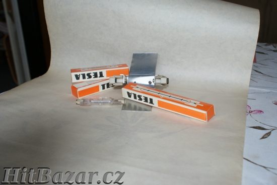 Lineární halogenové žárovky 220V 4 kusy+ objímky