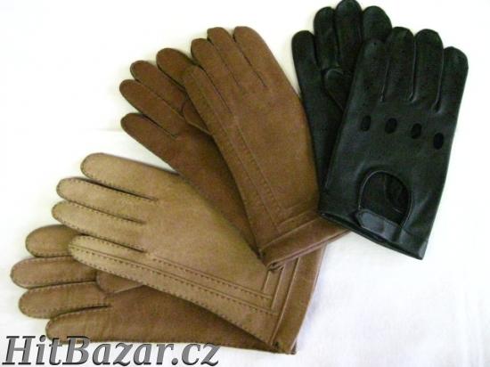 Pánské kožené rukavice VYTEPLENÉ a2cc62514b