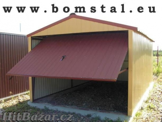 Montované plechové garáže - Celá ČR - 4