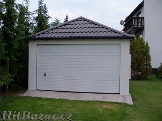 Montované garáže s omítkou - 3