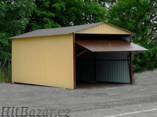 AKCE na plechové garáže, doprava a montáž zdarma - 4