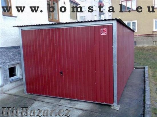 Plechové garáže - AKCE - doprava a montáž zdarma - 5