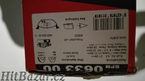Prodám brzdové destičky Octavia jedničková-Remsa - 3