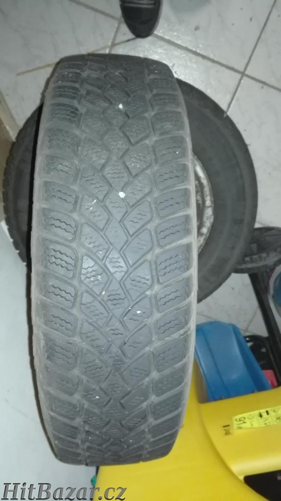 Prodám zimní pneumatiky s disky 4ks
