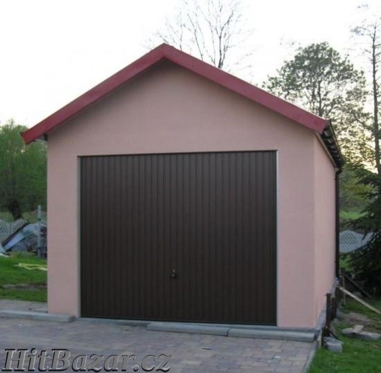 Montované garáže s omítkou - 5